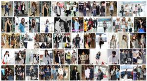 韓国 空港ファッション