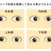 斜視とカラコンの深い関係。簡単に斜視を目立たなくする方法